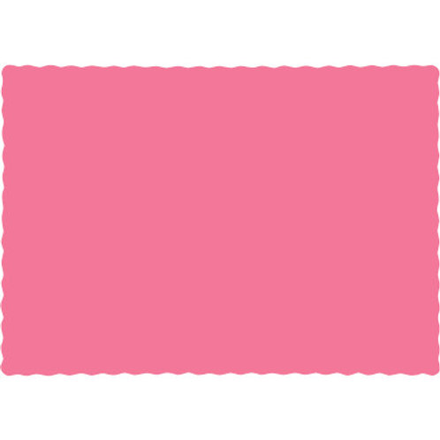 Candy Pink 100 Count paper placemats