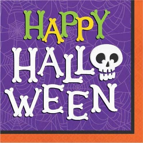 Halloween Haunted Houses Printed Beverage Paper Napkins Box of 192 Napkins