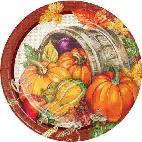 Fall Season Thanksgiving Party Decorations, Plentiful Harvest Pattern Printed 7
