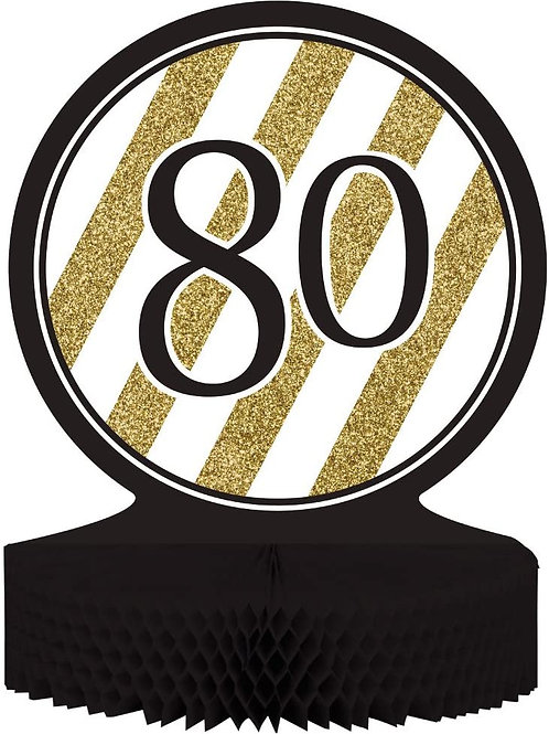 """Pack of 6 80"""" Birthday or Anniversary Honeycomb Party Centerpiece Decoration 13"""