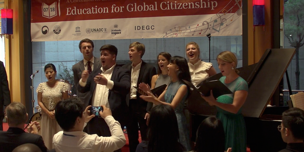 The 2nd Celebration on an Intl. Day of Education for Global Citizenship - Closed for the Public