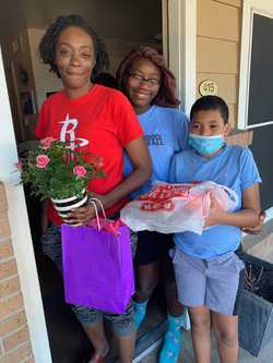 Thank you H-E-B for helping us make Mother's Day special for the Homemade Hope moms during these cha