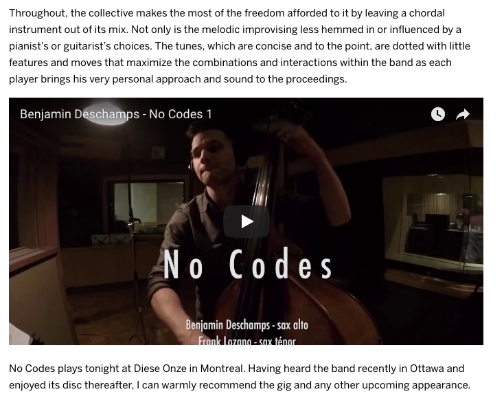 Ottawa Citizen No Codes CD Review 4_4.pn