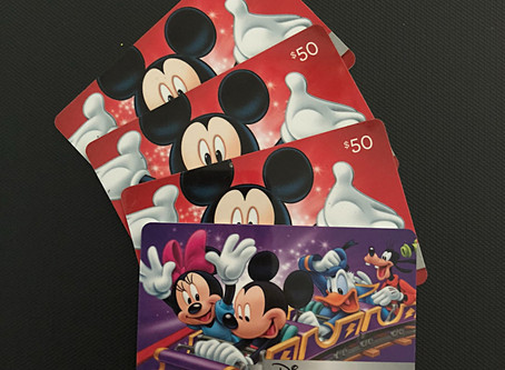 How to Save on Disney Vacations by using Disney Gift Cards
