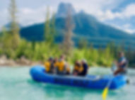 Bow River Canmore Alberta Rafting Float Tour