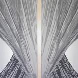 Fusion, acrylic on canvas, 120x120cm, 2018