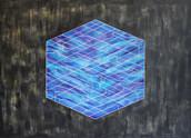 Crystal, acrylic on canvas, 140x100cm, 2017