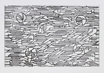 Elements in movement 2, dry-point, 29,2x19cm, 2017