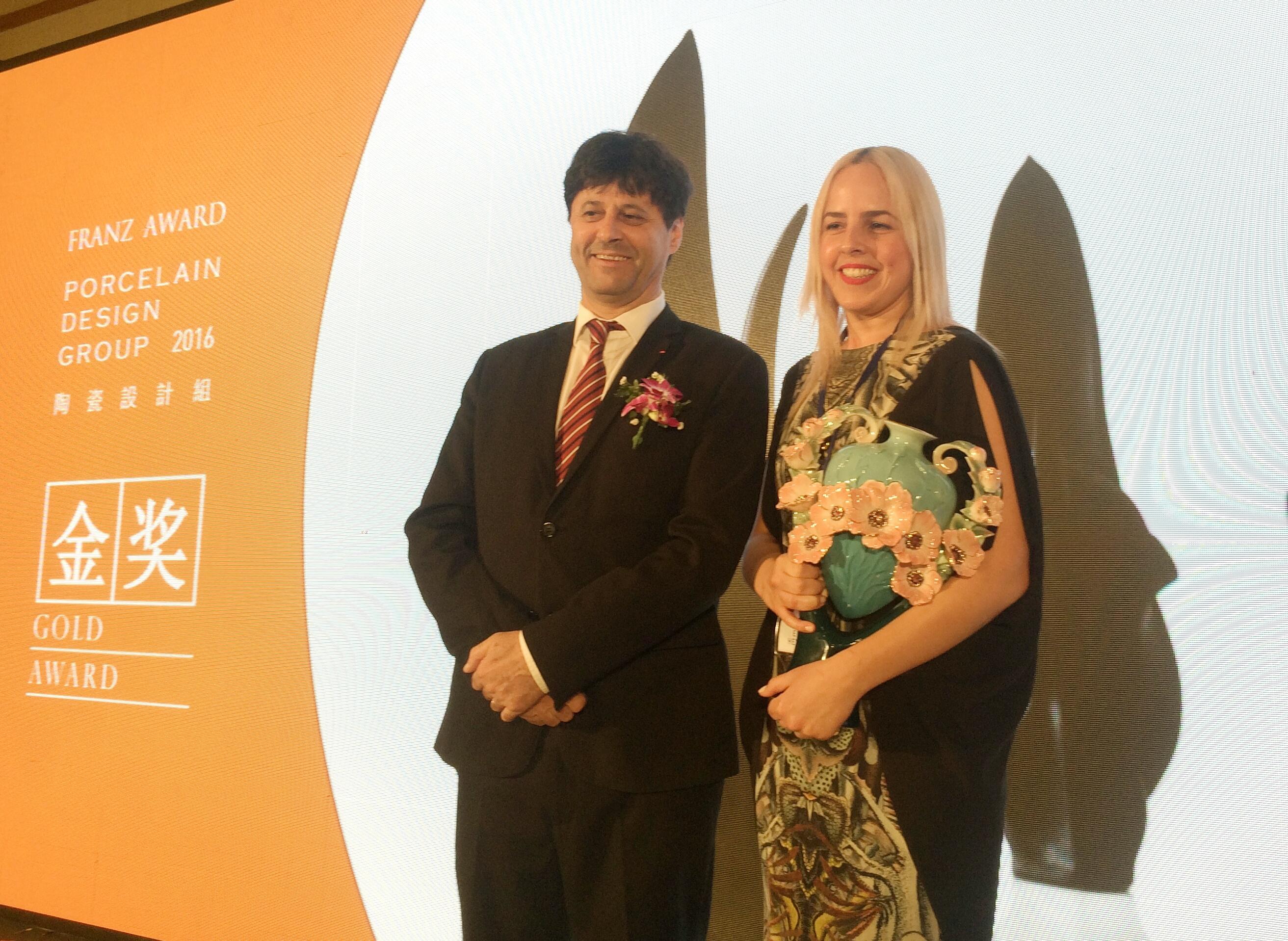 Eden Hevroni- gold medal FRANZ AWARD