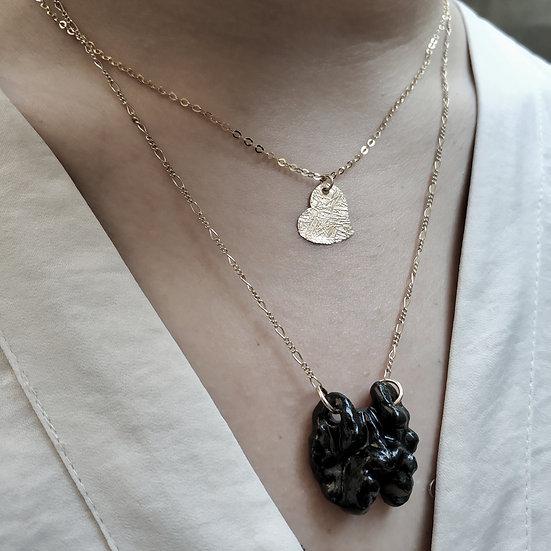 Porcelain Walnut necklace GIFT box Eden Hevroni Holiday Gift