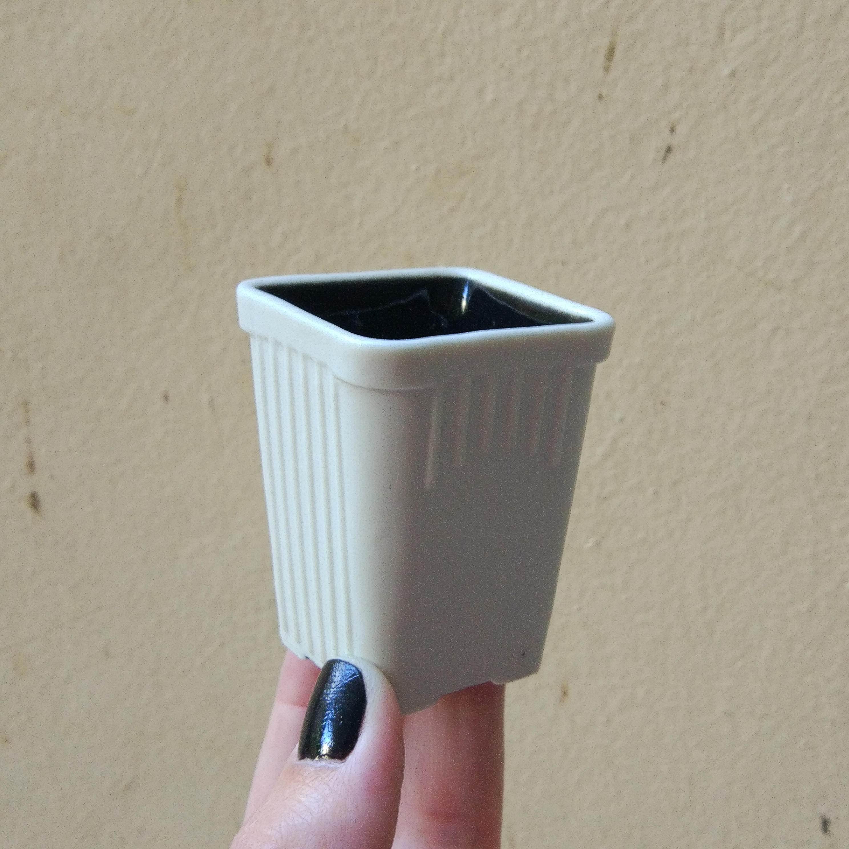 One Porcelain Espresso Cup