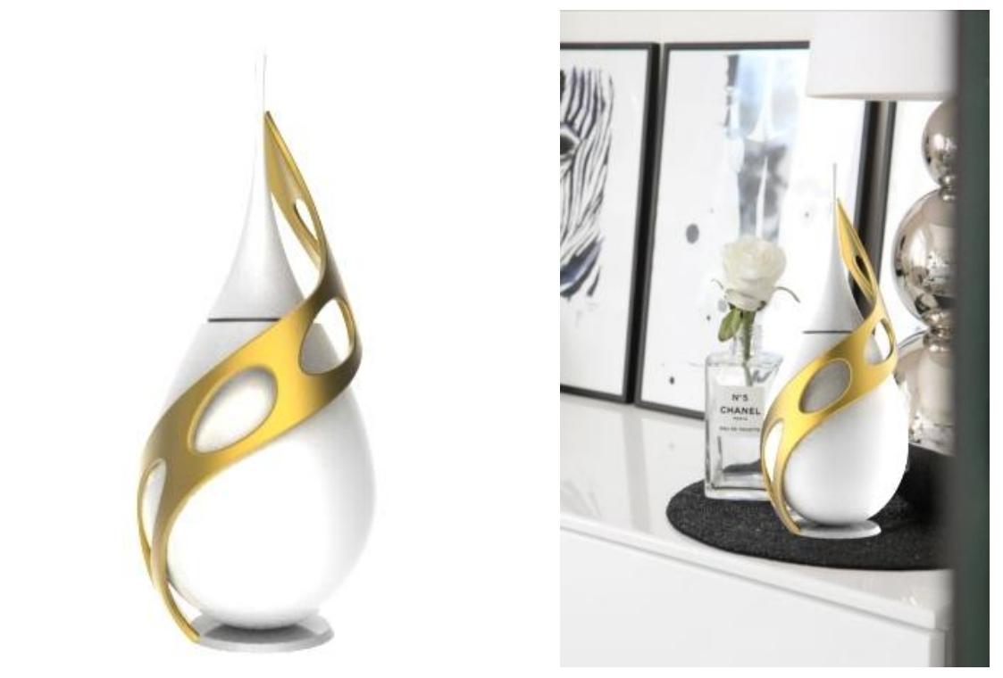 בקבוקי בושםe Design