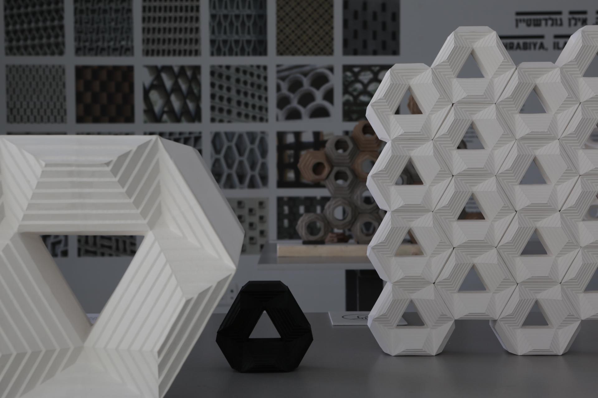 3D Pyramid Mashrabiya