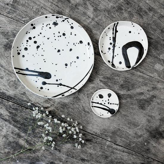 Set of three moon plates Eden Hevroni Holiday Gift Dish