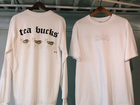 Dayt. ×TEA BUCKS 1周年記念Tシャツ再入荷のおしらせs