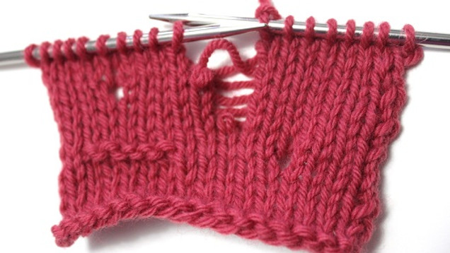 Fixing Mistakes in Knitting