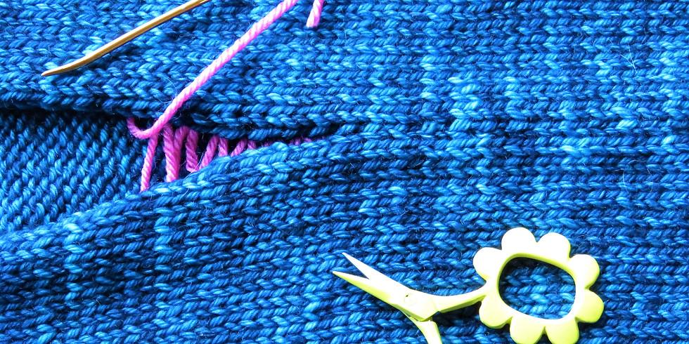 Start to Finish: The Magic of Mattress Stitch