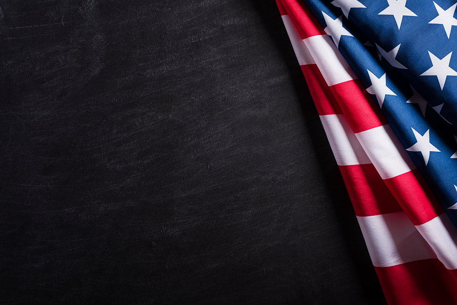 happy-veterans-day-american-flags-agains