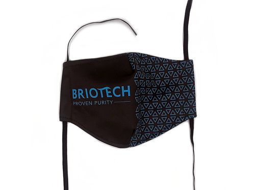 Resuable Briotech Mask, 2-Ply Poly Blend