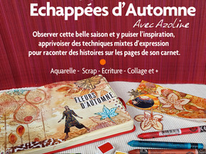 """Carnet """"Echappées d'Automne"""""""