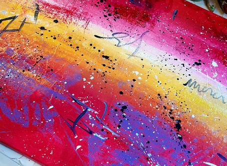 Emergence… à l'atelier ART'Expression de dimanche dernier.