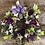 Thumbnail: Purple Deco Mesh & Ribbon Wreath