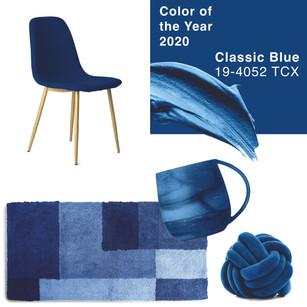 CLASSIC BLUE, EL COLOR PANTONE 2020