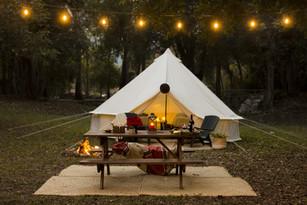 Glamping: la tendencia de acampar sin perder el glamour