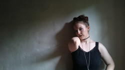 Kate Wilson wall pose