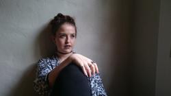Kate Wilson Grunge Wall Sit