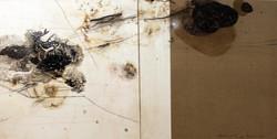 Hafid Marbou, mixte sur toile, 100 x 200