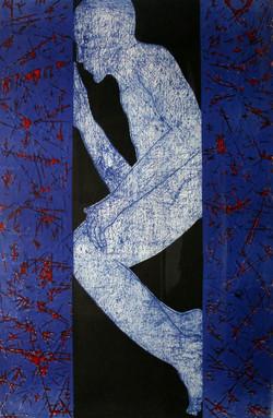 Mahi Binebine 1, lithographie, 120 x 80