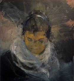 Monia Touis toile 100 x 93