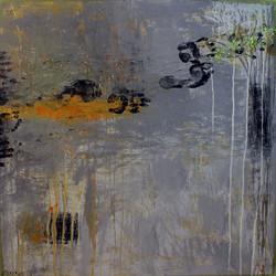 Rachid Bakkar, mixte sur toile, dim