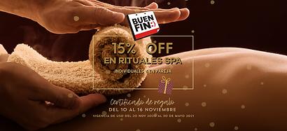 Promocion masajes pareja15%