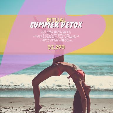 Ritual Spa Summer Detox