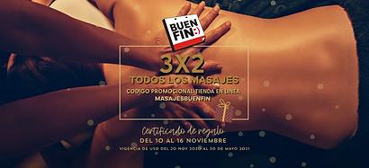 Promocion masajes 3x2