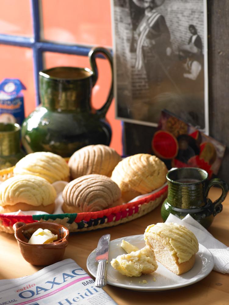 Concha rolls - bread