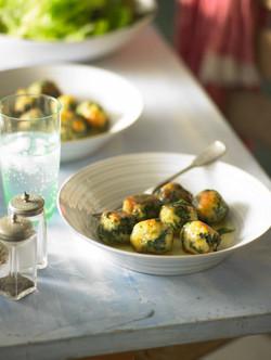 1 Pane - Spinach Dumplings