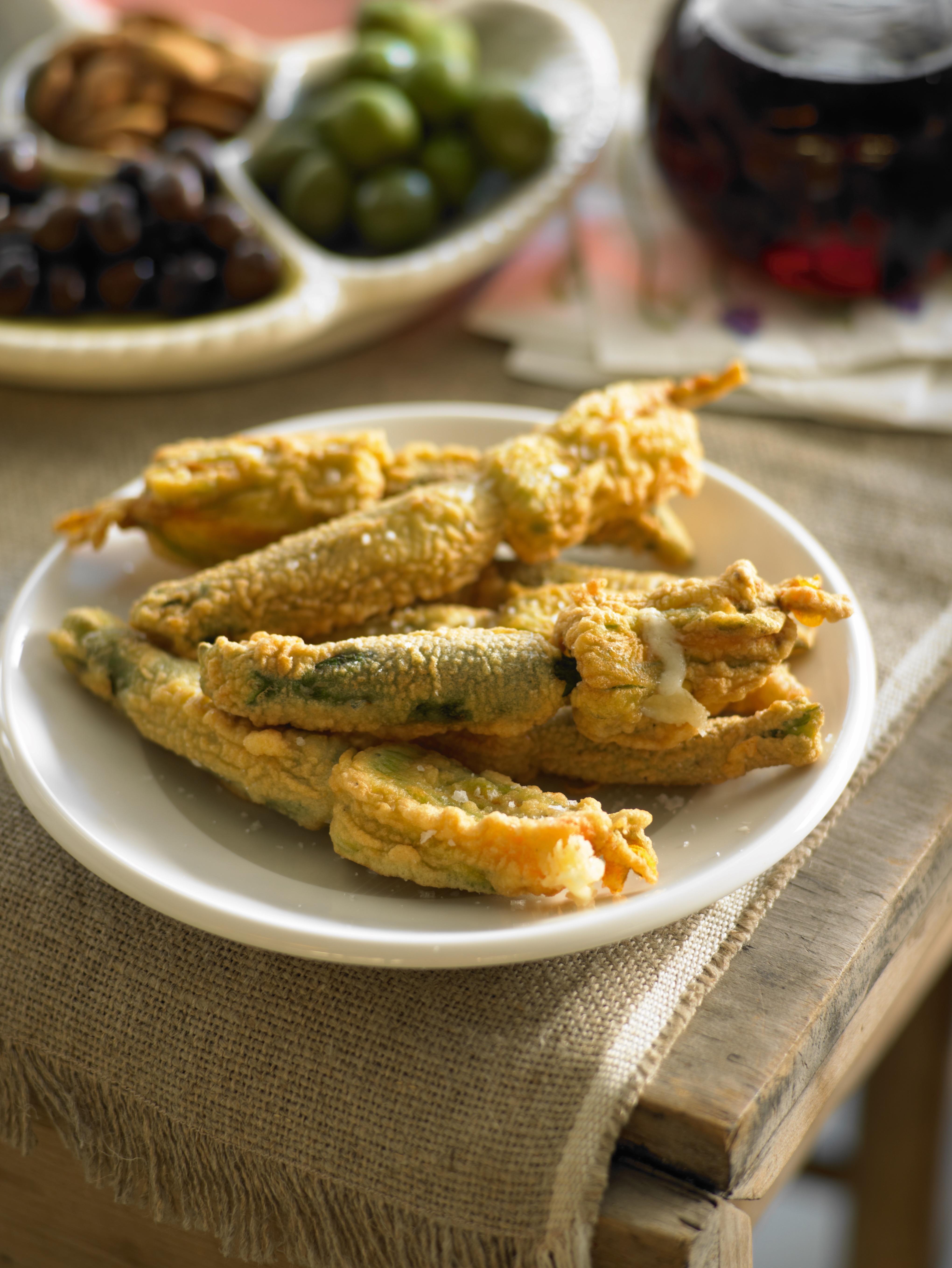 1 Antipasto-Zucchini Flowers