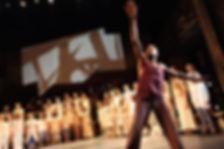 Black Mountain College, 2017.  Performer: Gus Solomons Jr.