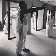 Harlem, Sugar Hill. CTH installation of Macbeth