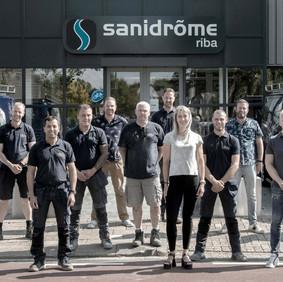 Groepsfoto Riba Sanadrome