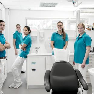 Groepsfoto Top Dental