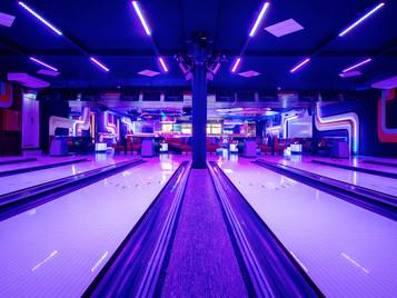 Interieurfoto's bowlingbaan