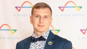 Quentin Hill, national Outreach Director, has been working in LGBTQ and pro-Israel.