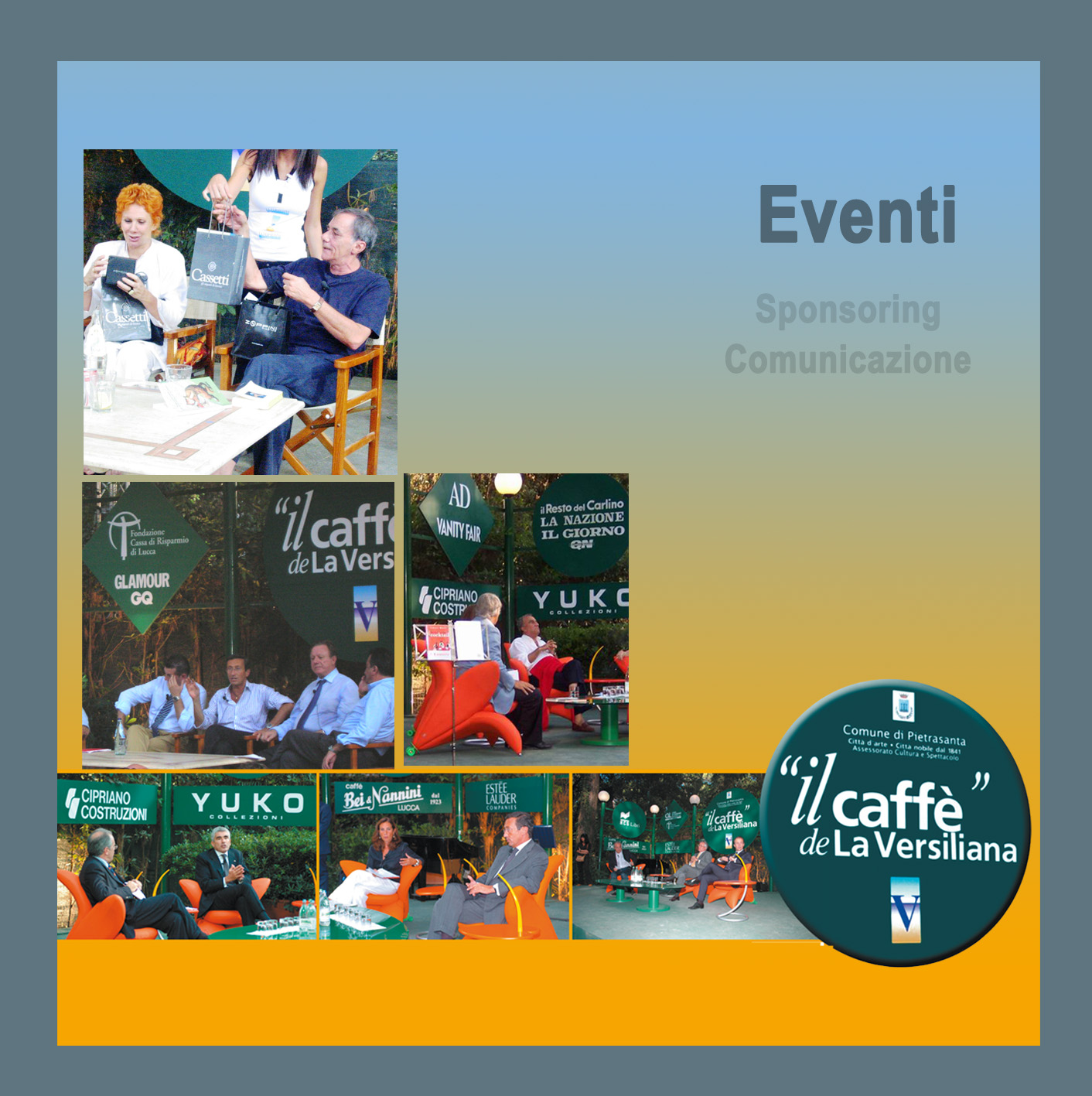 Eventi ed Incontri al Caffè