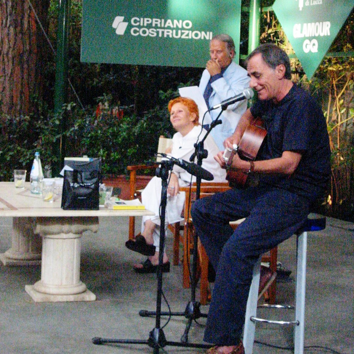 Roberto Vecchioni e Maria Rita Parsi