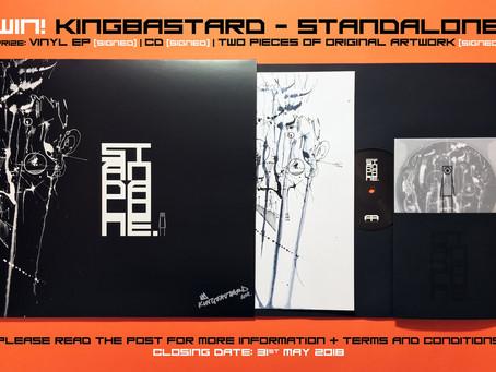 Kingbastard Competition. Win Some Exclusive Kingbastard Goodies.