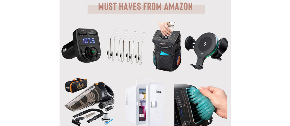 Our Most Popular Car Must Haves from Amazon